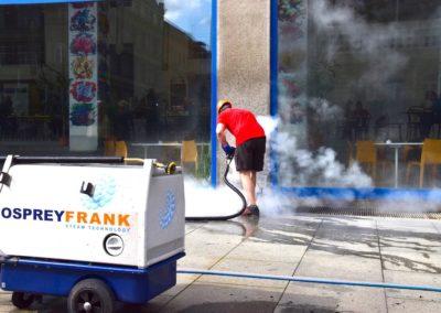 Parní čištění čerpacích stanic 02