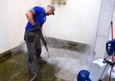 Parní čištění čerpacích stanic 03