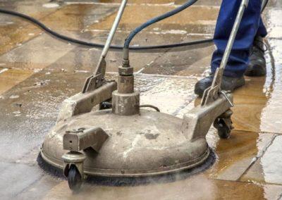 Parní čištění keramické dlažby 06