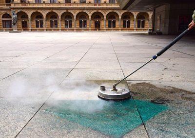 Parní čištění podlah 01