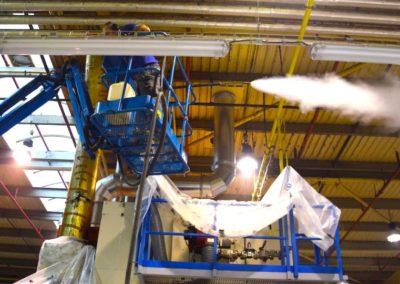 Parní čištění vzduchotechniky 01