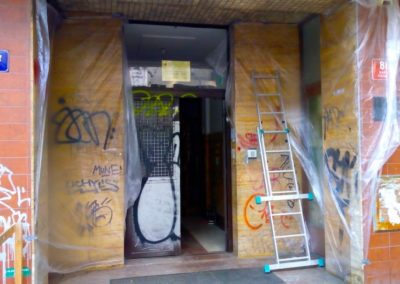 Parní odstranění graffiti 02